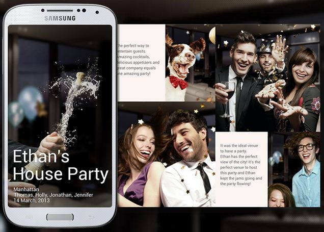 What Is Story Album Application In Samsung Galaxy S4 Gt I9500 Samsung India
