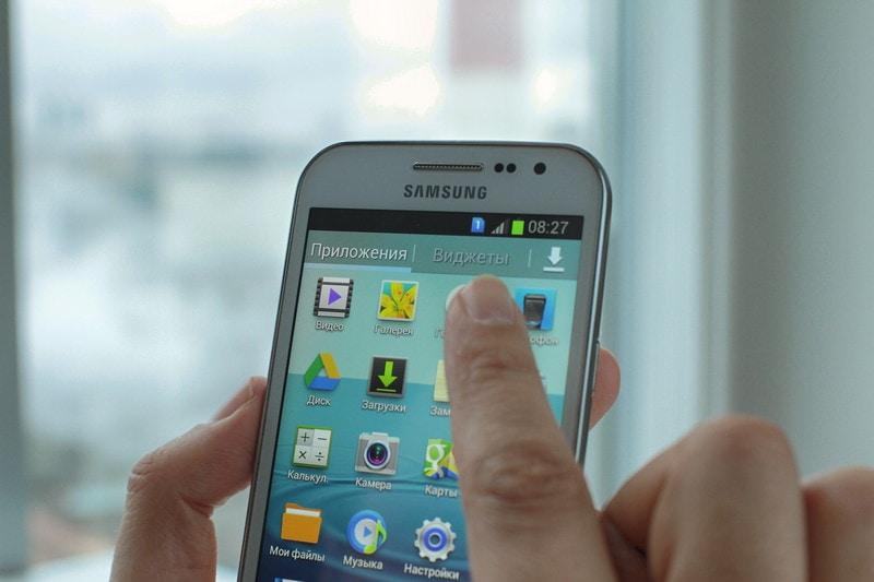 Как включить фонарик на Samsung Falaxy