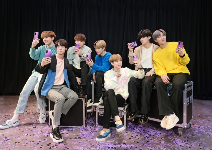 Up Close And Behind The Scenes With Bts Samsung Sg