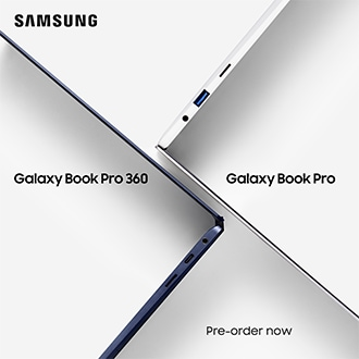 Pre-order the new Galaxy Book Pro