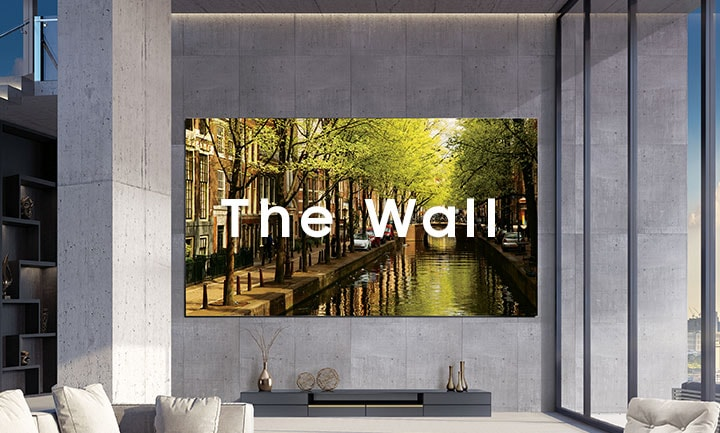 Samsung The Wall Tv Modular Microled Display Samsung Uk