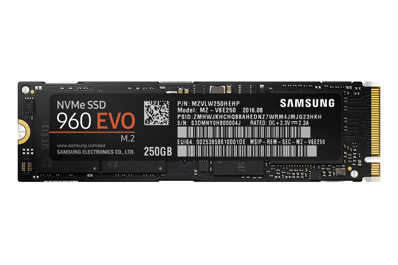 960 EVO NVMe M.2 SSD