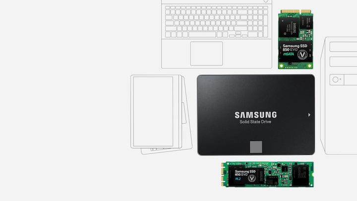 850 PRO SATA III 2.5zoll SSD   SAMSUNG Österreich