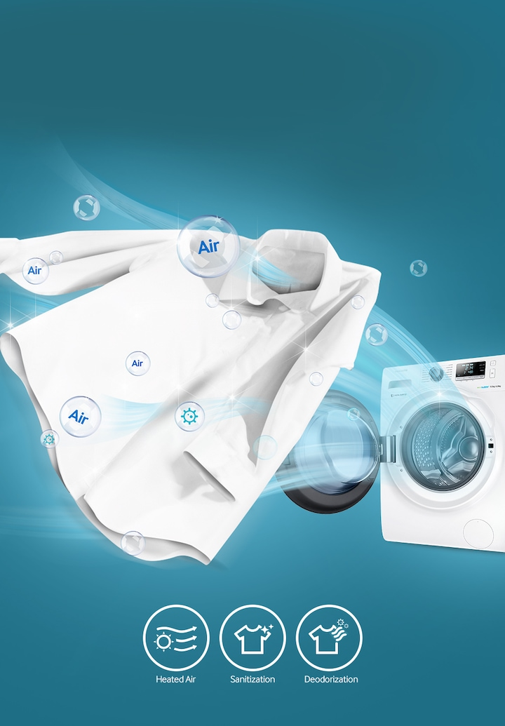 Sanitize Your Clothes with Air