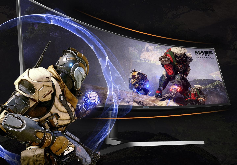 Super Ultra-wide screen