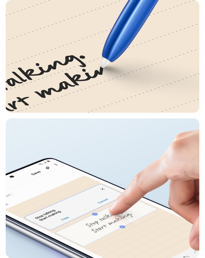 Swiftly turns handwriting into text