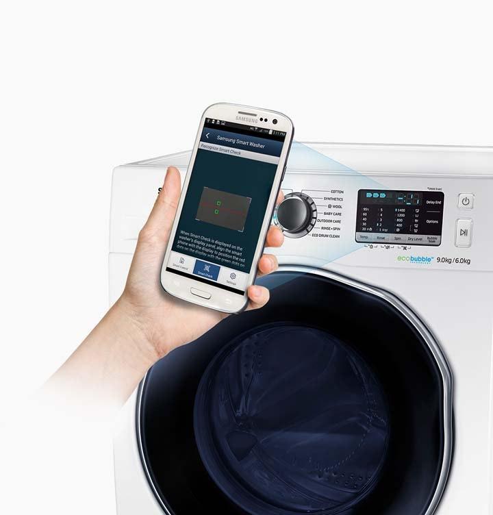 samsung waschtrockner wd5000 8 kg waschen 6 kg trocknen. Black Bedroom Furniture Sets. Home Design Ideas