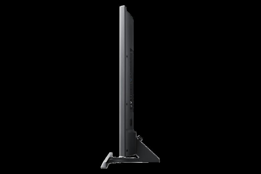 55 LED Hospitality Display HD890U HG55ED890UB Side Black