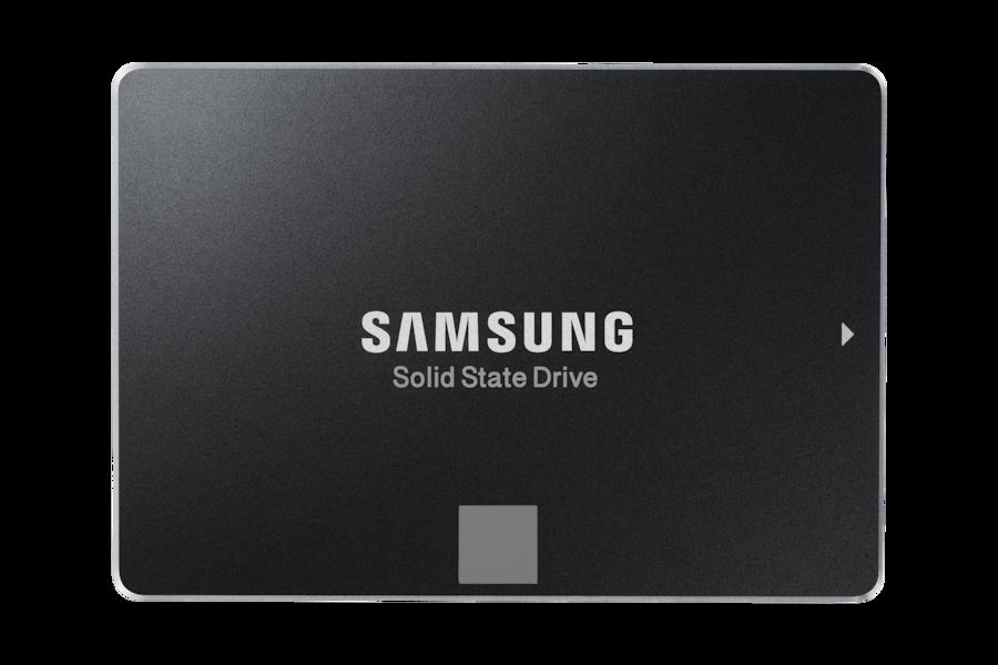 850 EVO SATA III 2.5zoll SSD 75E120 Vorderseite Schwarz
