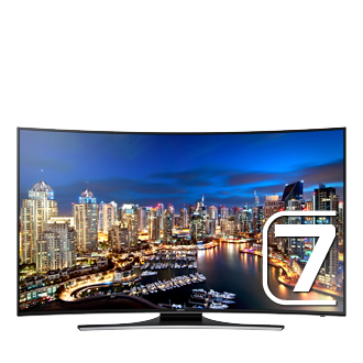 55 Curved UHD TV  HU7200