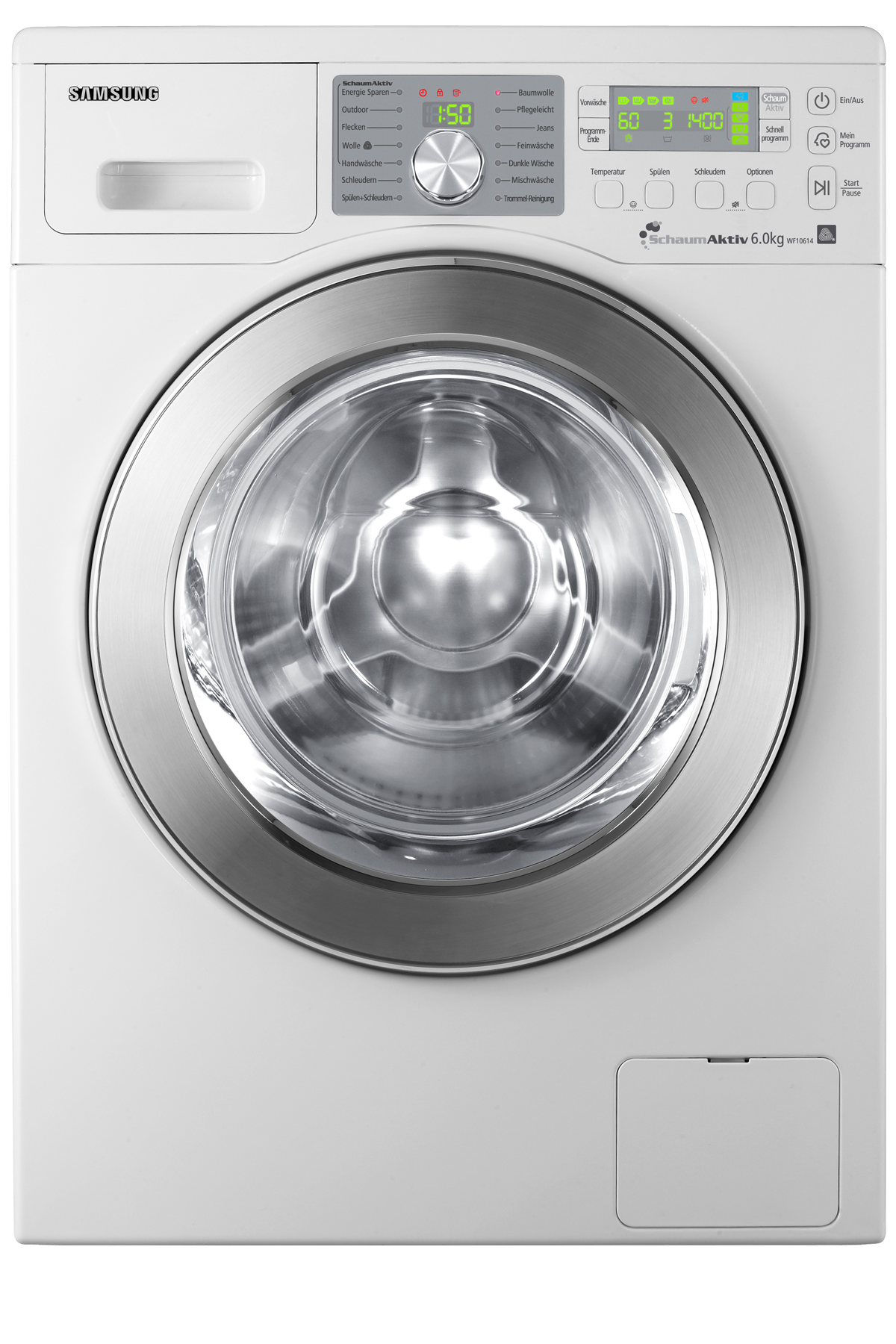 Aegis3 Washer with Eco Bubble, 6 kg, White