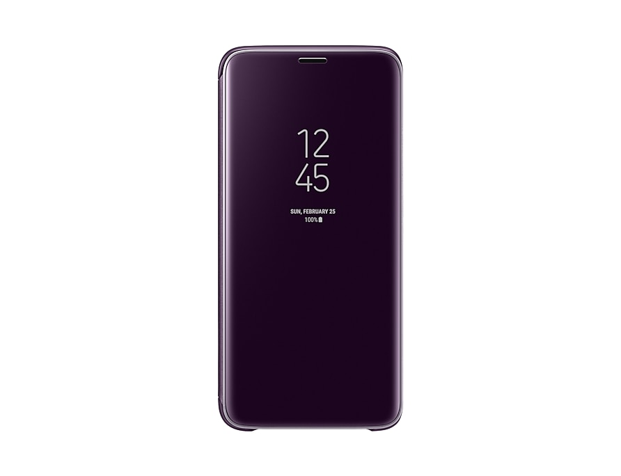 samsung s9 clear view cover aktivieren