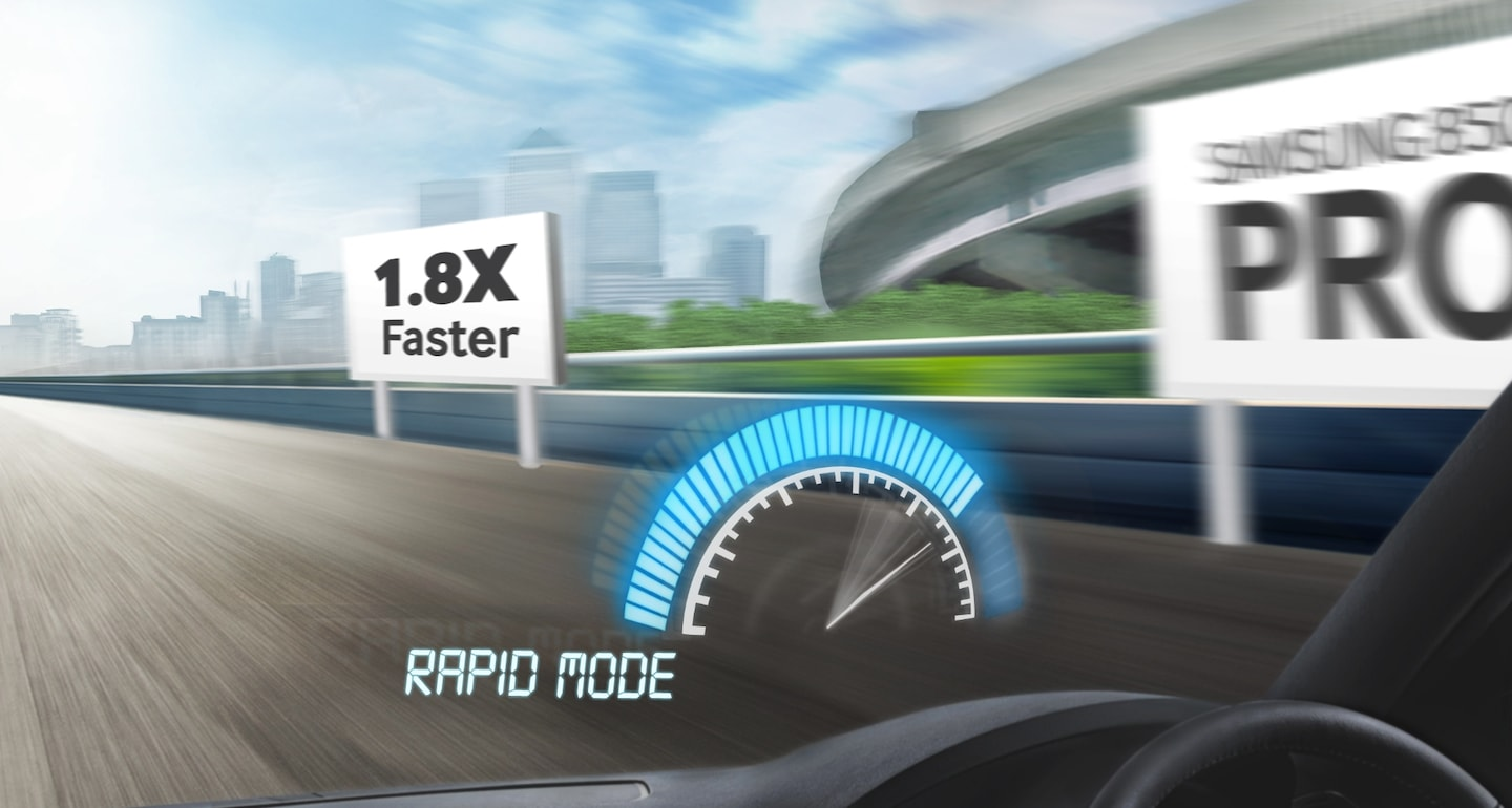 Shift into high gear with the enhanced RAPID mode