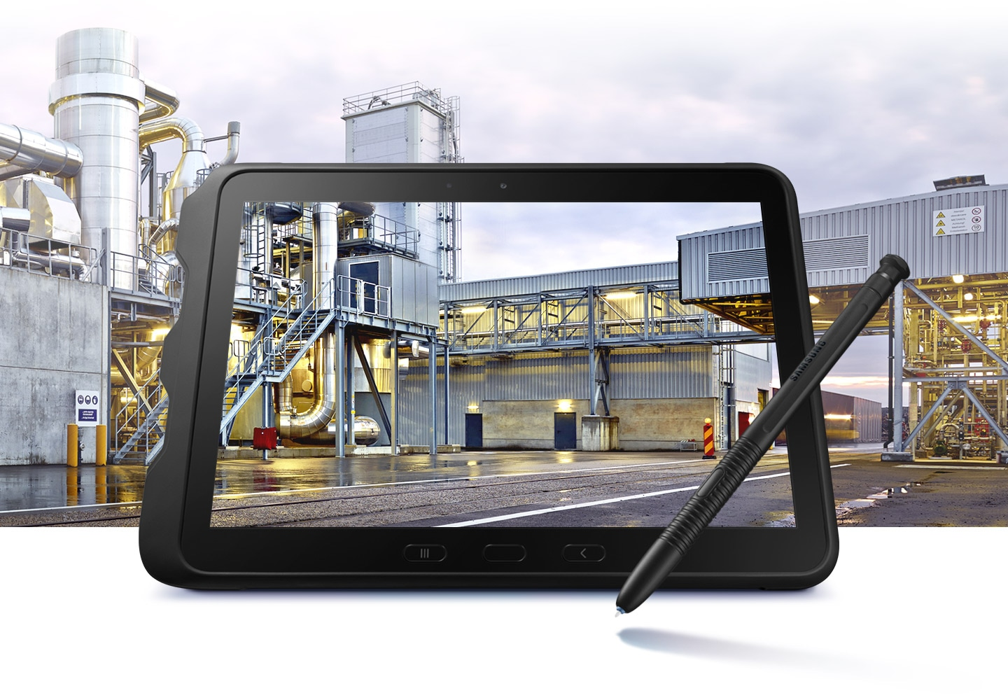 A Rugged tablet for business anywhere