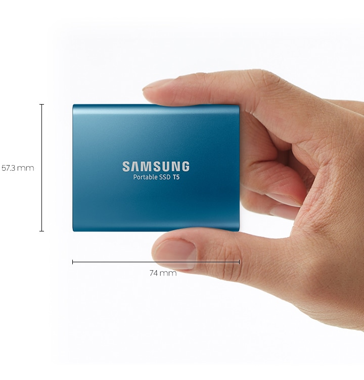 Samsung Portable SSD T5 12