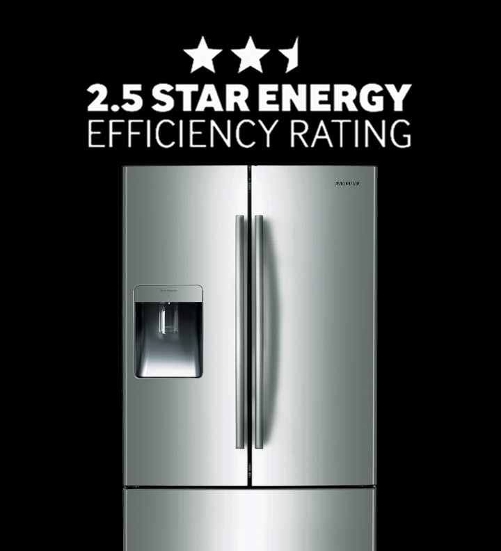 Enjoy 2.5 Star Energy Efficiency