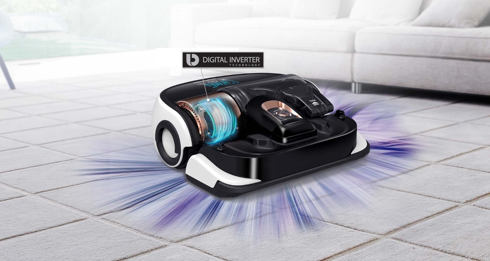 Samsung's most powerful robotic vacuum cleaner