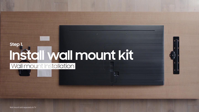 samsung tv mount instructions