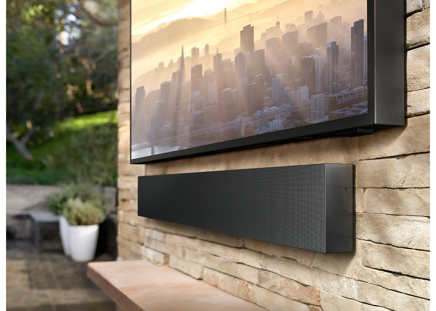 Built for outdoor entertainment