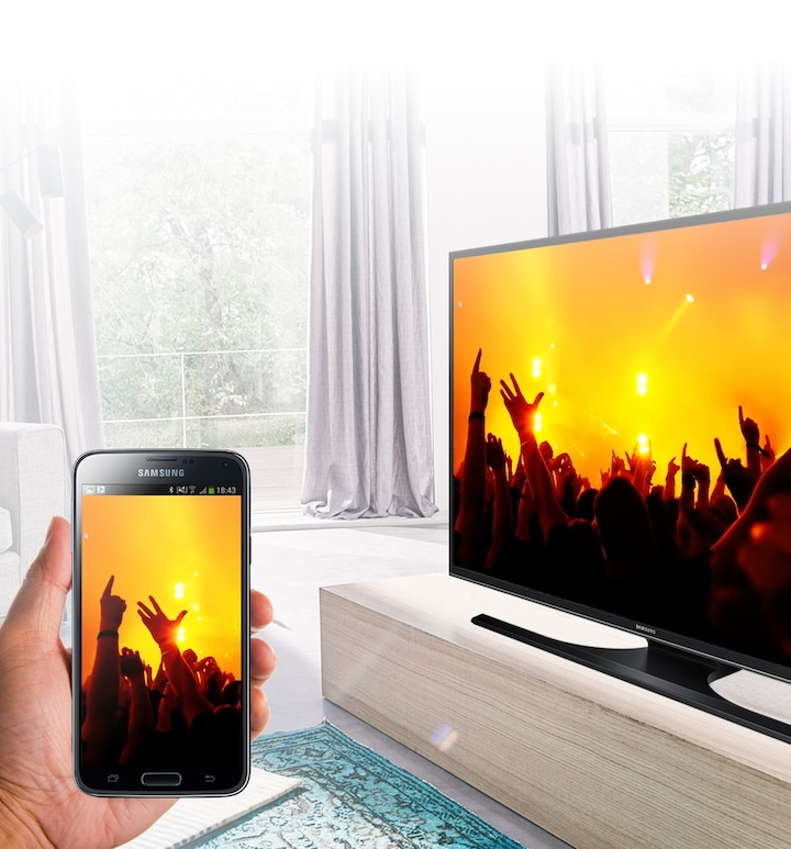 Play music to your TV