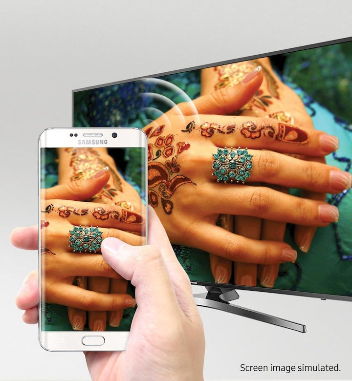 See your mobile's screen on the TV