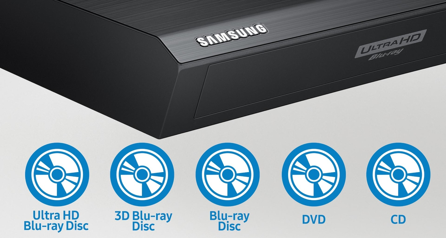 Watch Blu-ray™ discs, DVD and CD collections