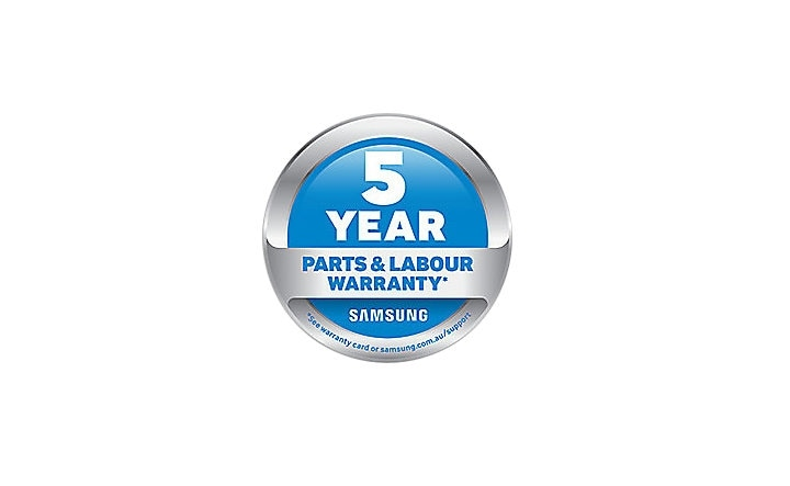 5 YEARS PARTS AND LABOUR WARRANTY