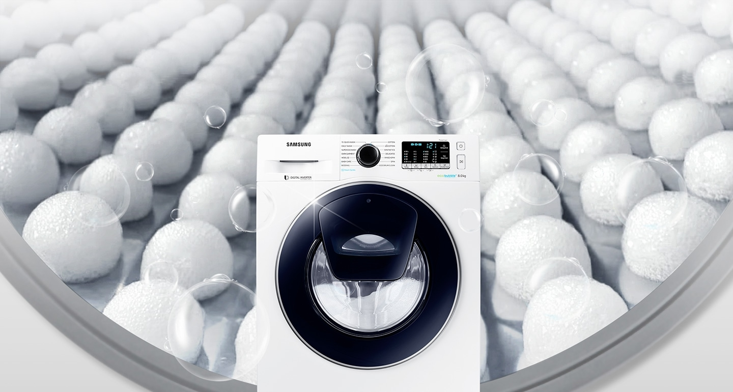 Powerful bubbles, outstanding cleaning