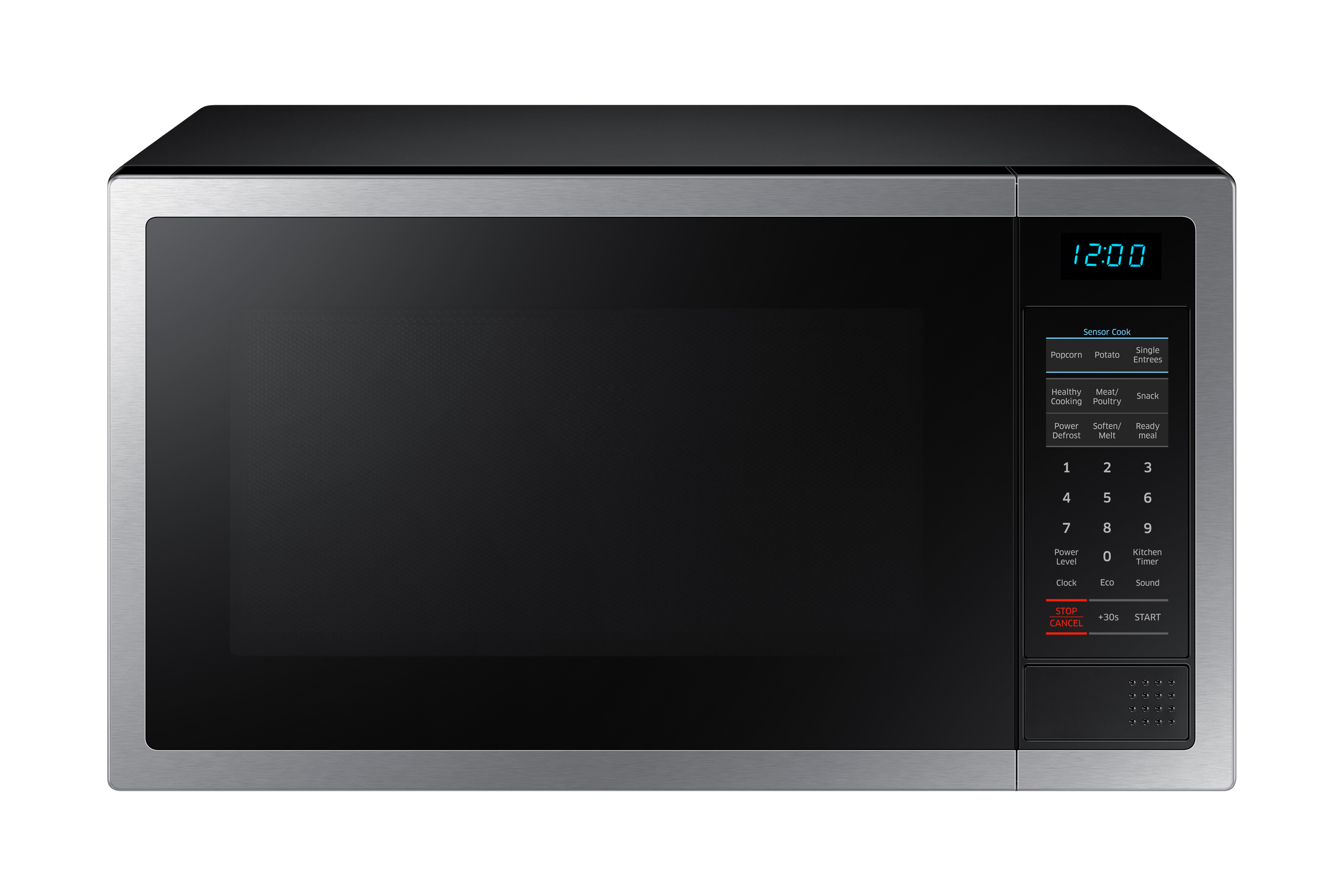 34L Stainless Steel Microwave with Ceramic Enamel Interior (MSME6124ST-1)