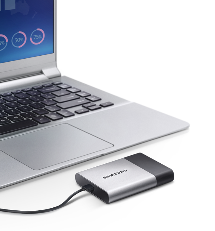 Samsung portal SSD offers enhanced speed, durability and connectivity.
