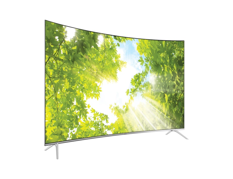 l perspective black - 65 Inch Curved Tv