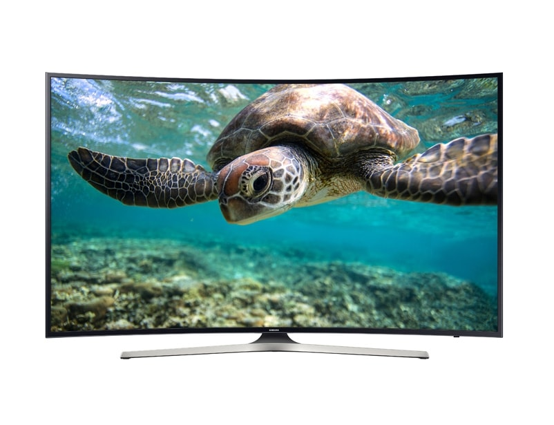 front black - 65 Inch Curved Tv