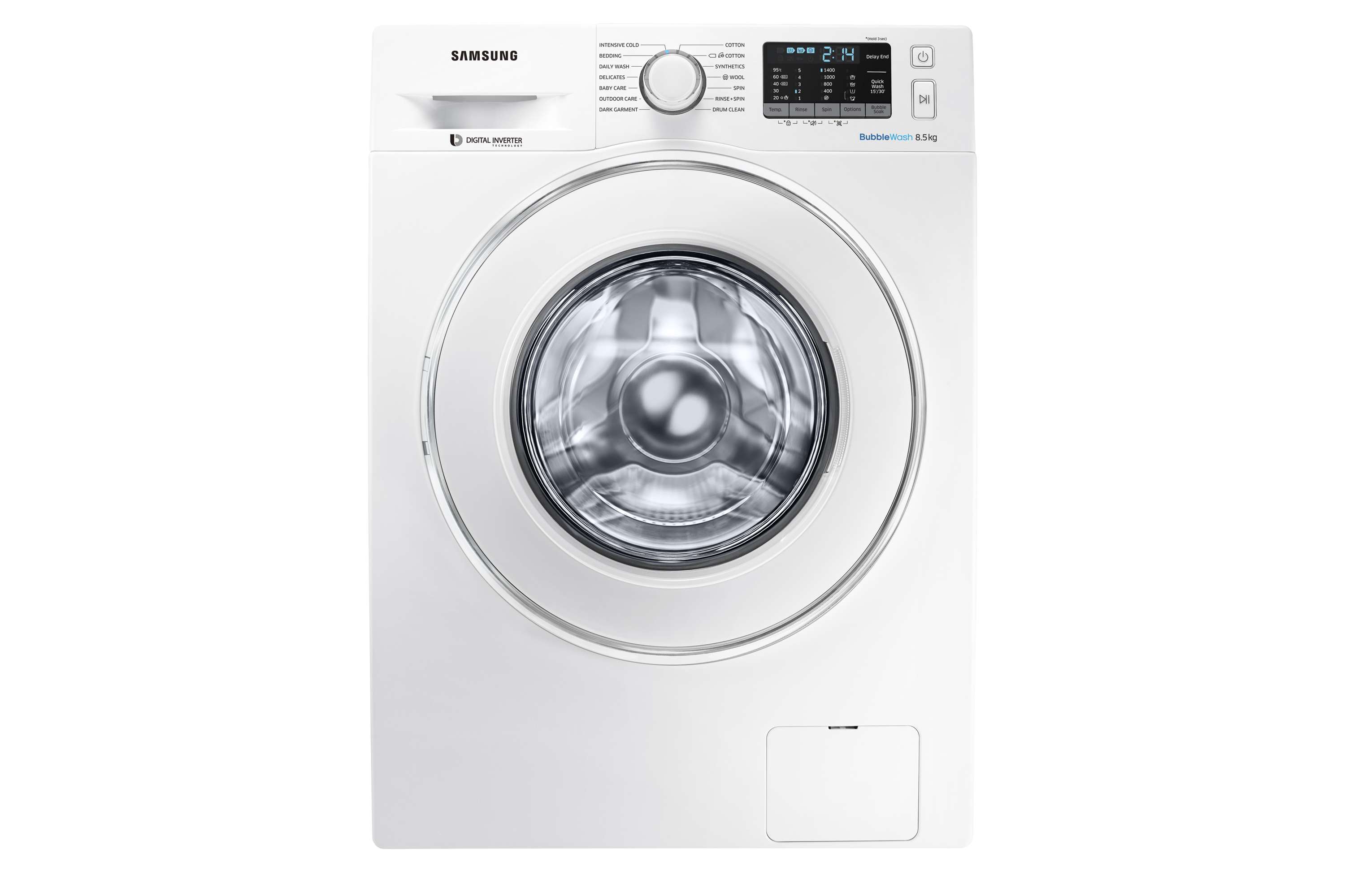 8 5kg Front Load Washer - WW85J5410IW | Samsung Support