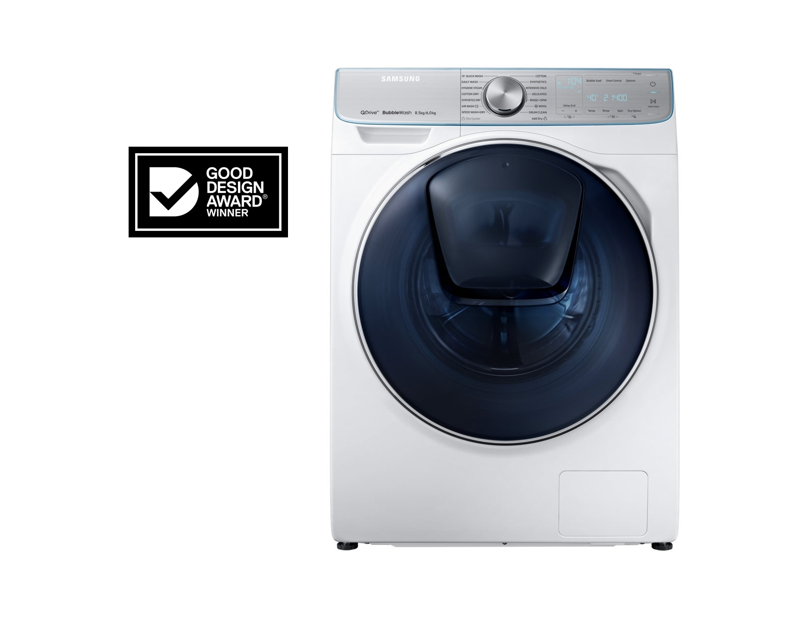 8.5kg/6kg QuickDrive™ Front Load Washer / Dryer Combo - WD85N74FNOR