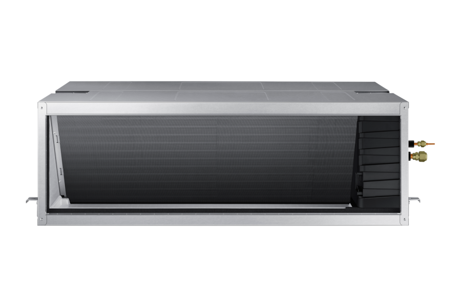 18.0kW Ducted Split AC180JNHFKH/SA Indoor AC180JXAFNH/SA Outdoor, (3-Phase) AC180JNHFKH/SA Front silver