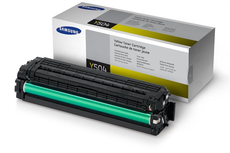 CLT-Y504S  Yellow Toner (1,800 pages) Y504S Mix