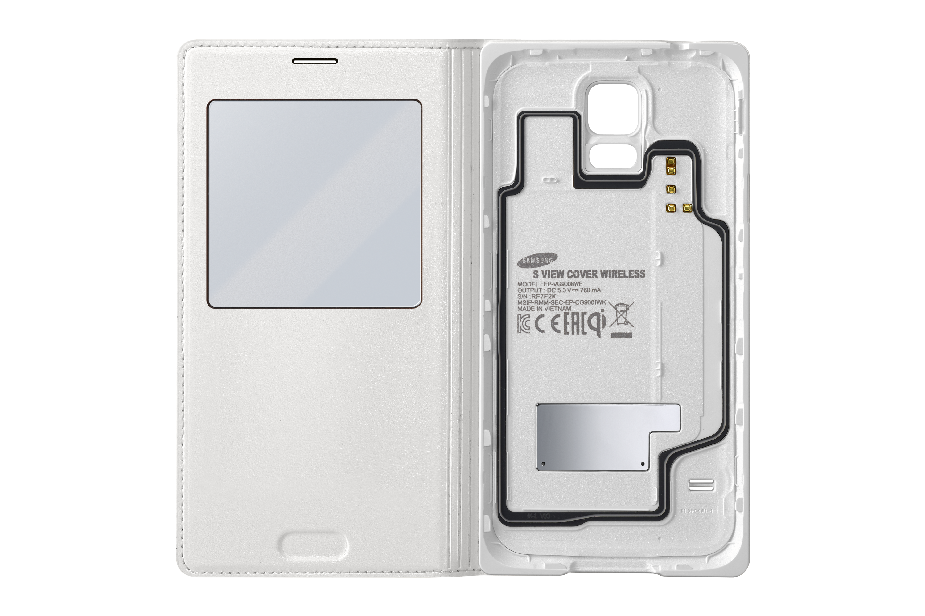 Galaxy S5 S View Wireless Charging Cover