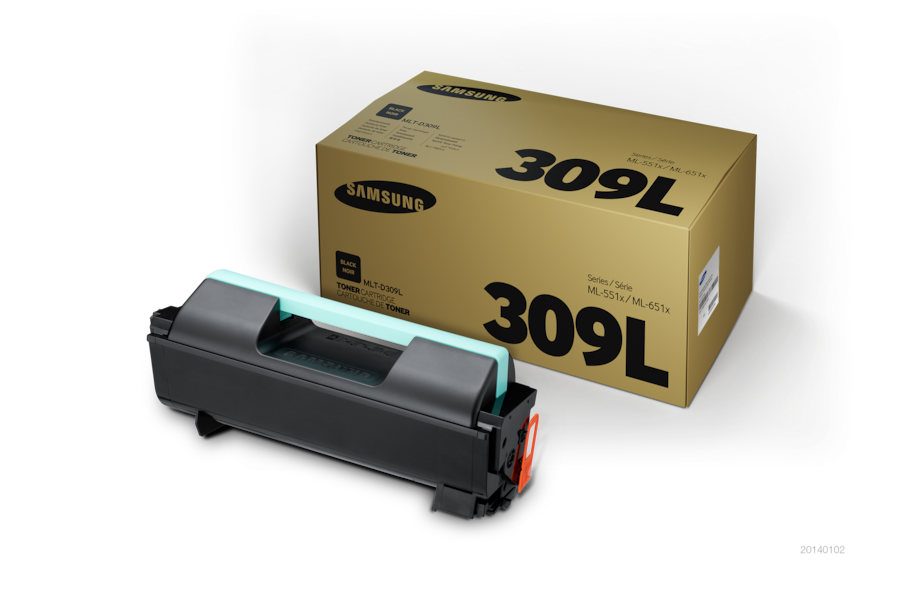 MLT-D309L  Black Toner (30,000 pages) D309L Front