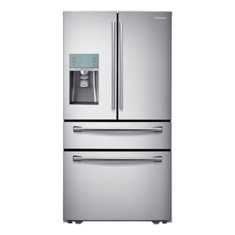 890 Litre Capacity French Door Refrigerator with Sparkling Water Dispenser (SRF890SWLS)