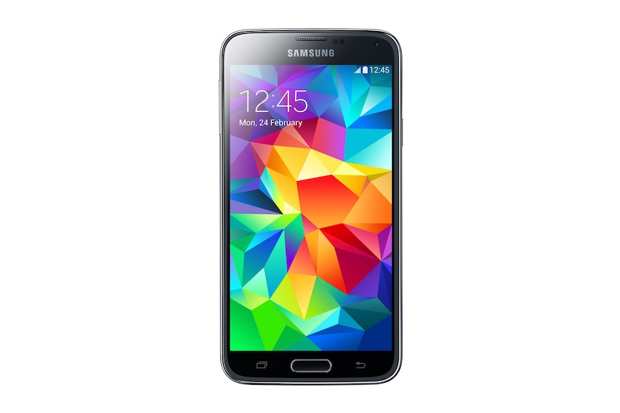 Galaxy S5 G900I front BLACK