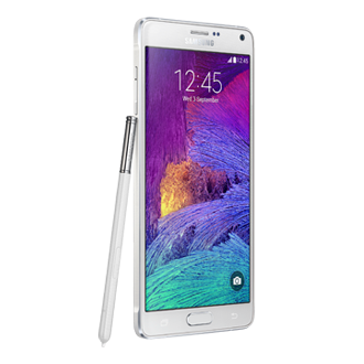 SM-N910G Samsung Galaxy Note 4<br/>White