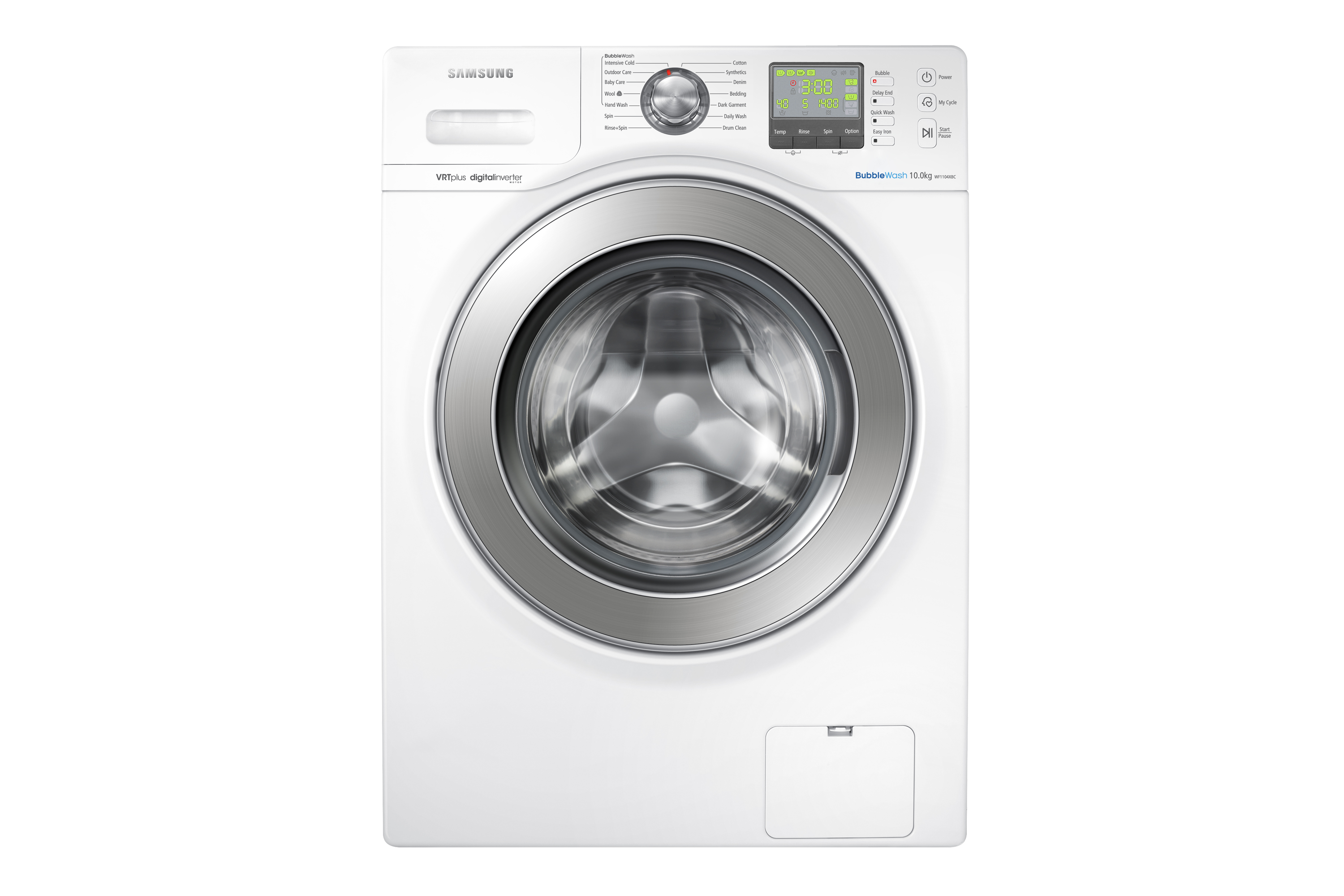 10kg Front Load Washer Wf1104xbc