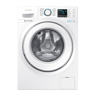 WW75H5400EW 7.5kg Front Load Washer with Graphic LED Screen