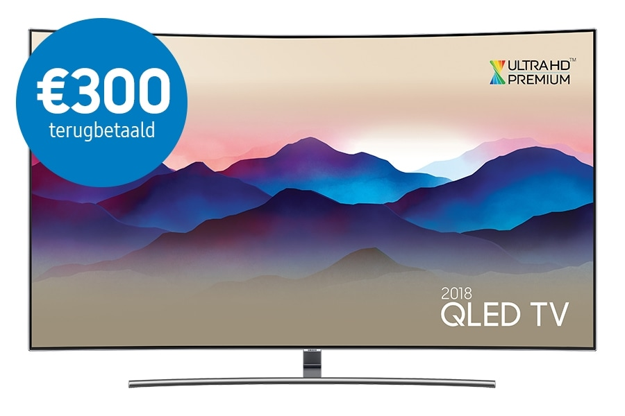 Curved QLED TV 65 inch QE65Q8C 2018