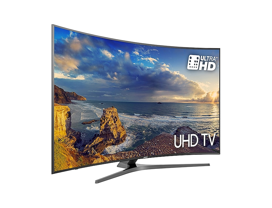 UHD TV UE49MU6640 l-perspective black mist