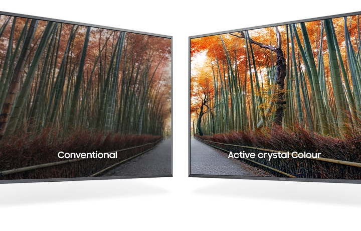 Samsung TV Active Crystal Color