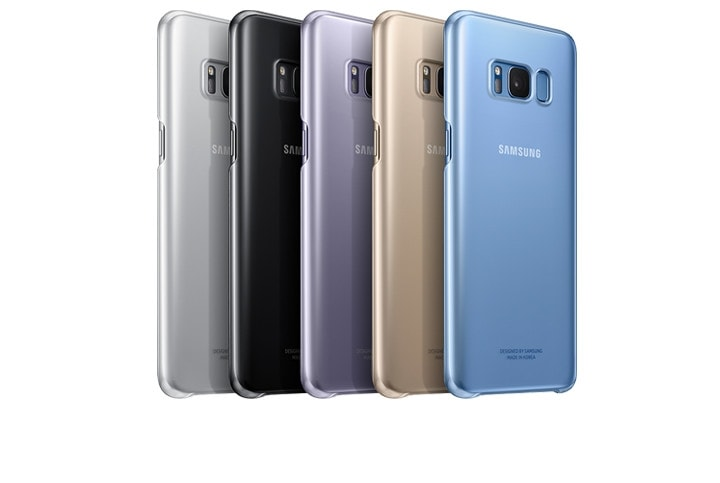 galaxy s8 clear cover kleuren