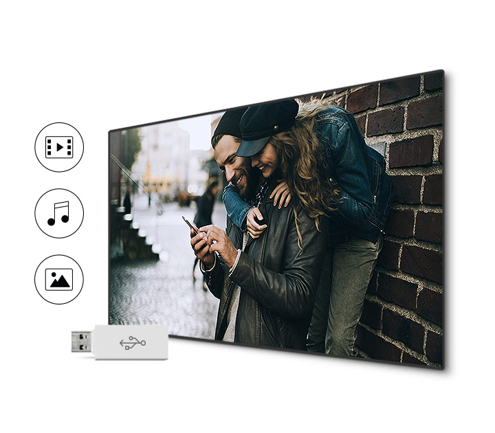 Samsung TV connect en deel films
