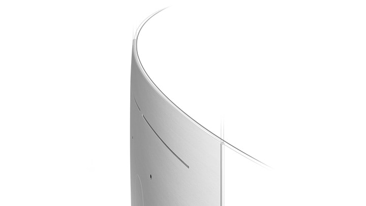 QLED TV Q8C Curved scherm