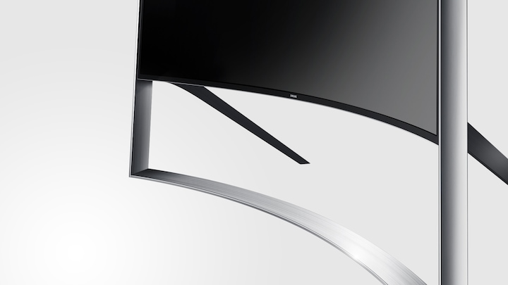 "UE105S9WAL 105"" 9-Series Curved UHD TV design"